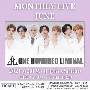 Monthly Live JUNE @ 新宿アルタKeyStudio